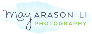 Photography by May Arason-Li logo